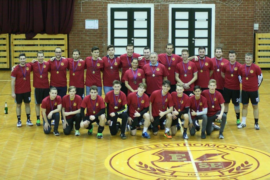 ESE NBII. Bajnok csapat (2016-17) képei